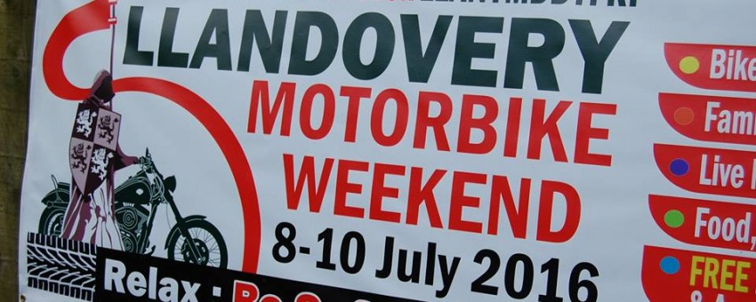 HRH The Prince of Wales to launch the inaugural Llandovery Motorbike Weekend