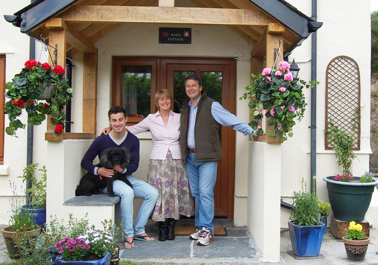 Sue, Jonah and Ben look forward to welcoming you to Basel Cottage